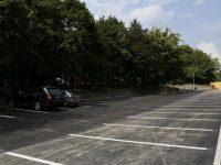 Parkoló a Mechwart liget mellett